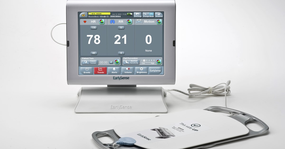 EarlySense remote patient-monitoring technology
