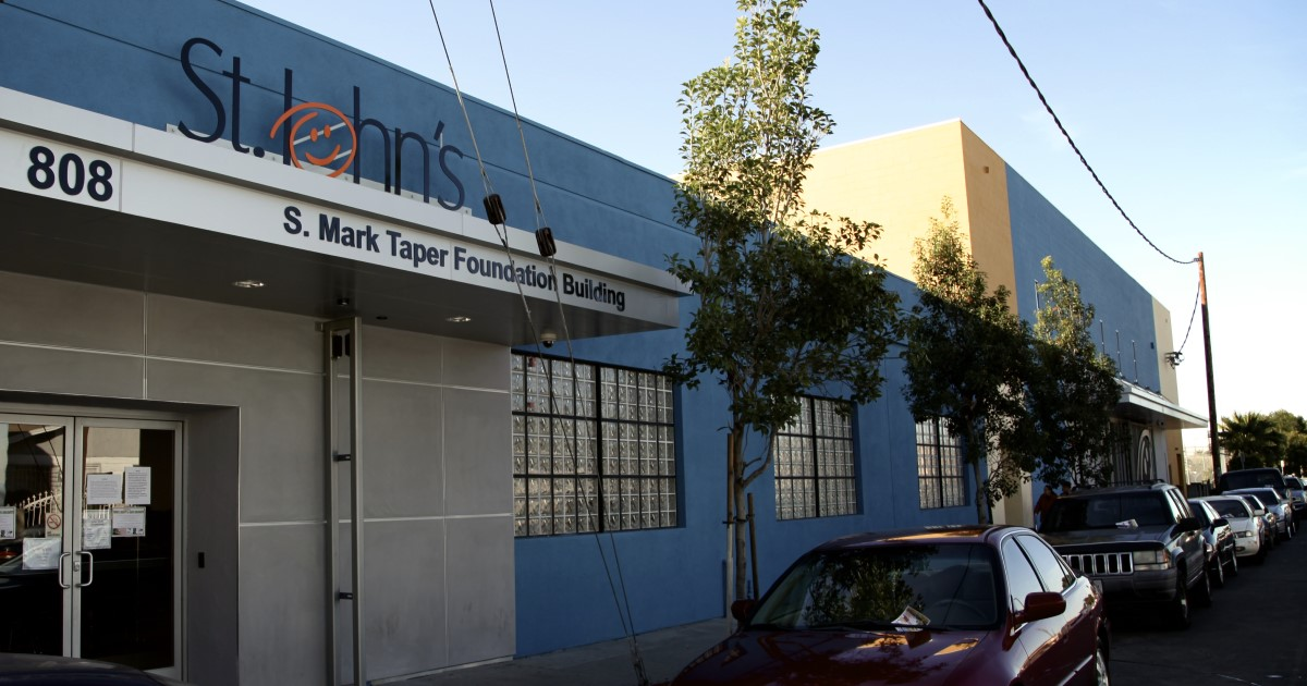 St. John's Well Child and Family Center in Los Angeles