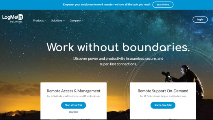 To combat COVID-19, LogMeIn offers free emergency remote work kits for healthcare providers