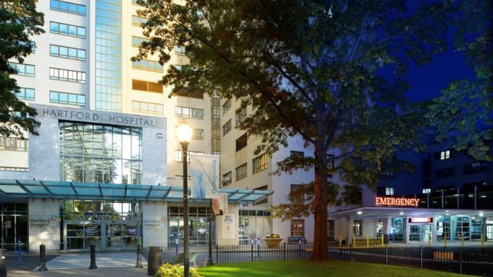 Hartford Hospital entrance