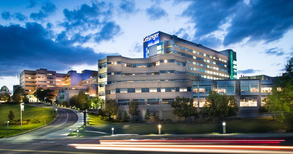 Geisinger Medical Center in Danville, Pennsylvania