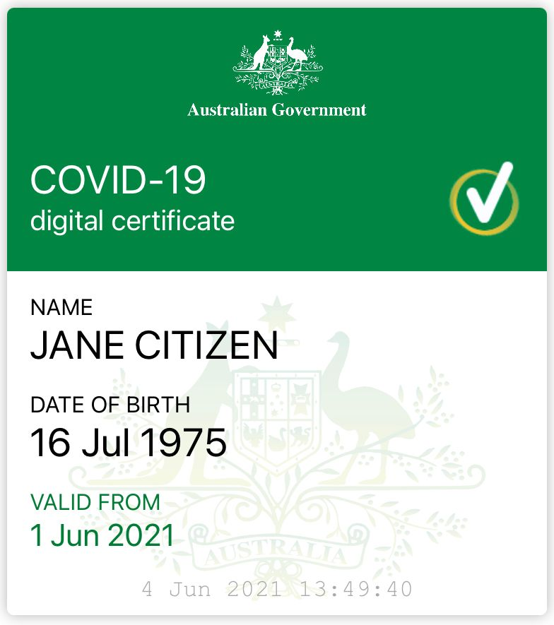 healthcareitnews.com - Australian PM says COVID-19 vaccine certificates coming to Apple Wallets