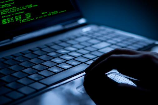 Laptop security breach