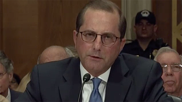 Hearing for HHS nominee Azar dominated by drug pricing issue | Healthcare IT News
