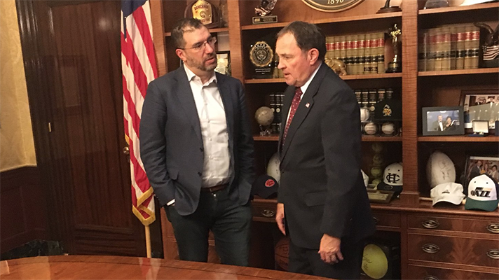 Andy Slavitt meeting with lawmakers about rural populations