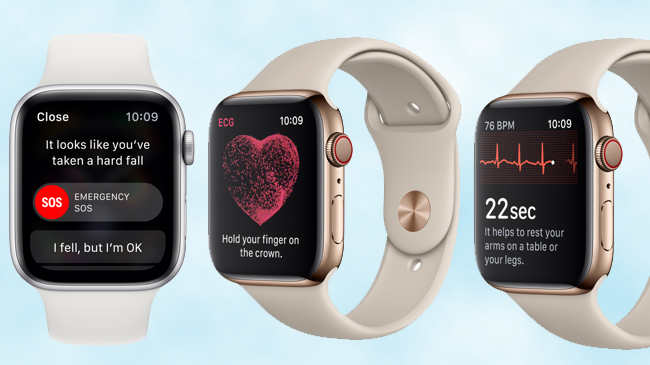Apple unveils Watch Series 4 with FDA-approved ECG