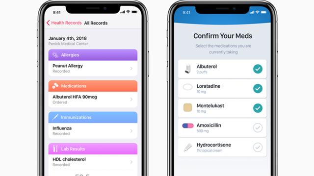 Apple Health Records API