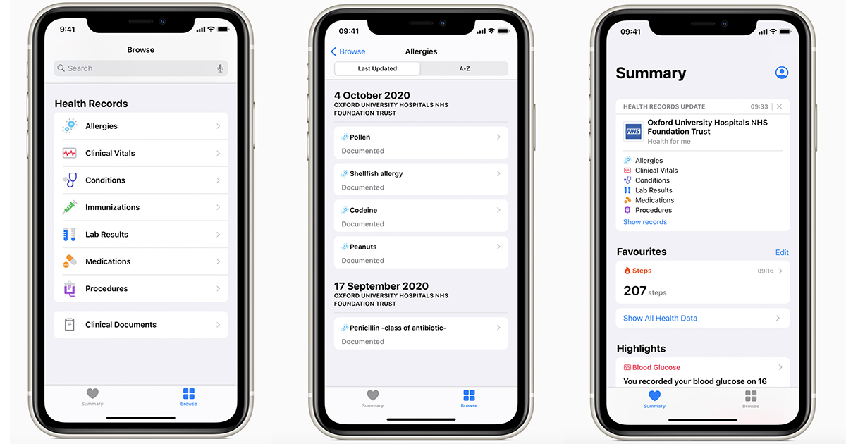 Apple Health Records goes international with rollouts at five UK, Canadian providers thumbnail