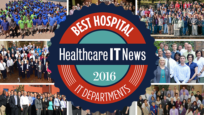 Best Hospital IT 2016 CIOs