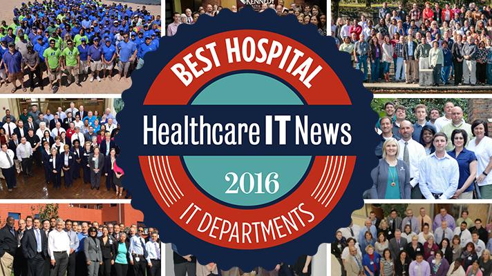 Best Hospital IT Departments 2016