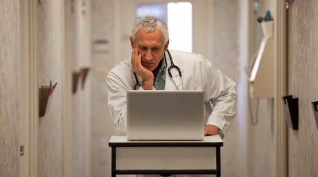 EHR systems contribute to doctor burnout