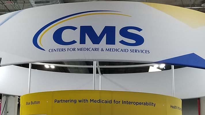 CMS booth at HIMSS18