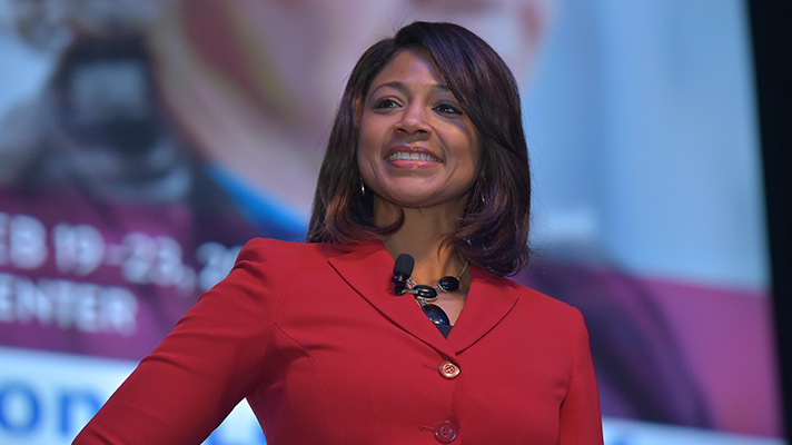 HIMSS Board Chair Denise Hines