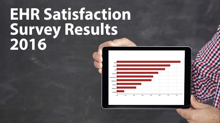 EHR Satisfaction Survey 2016