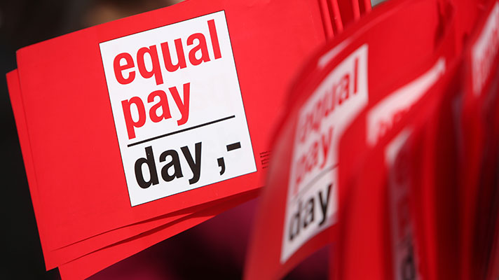 State equal pay for equal work measure advances