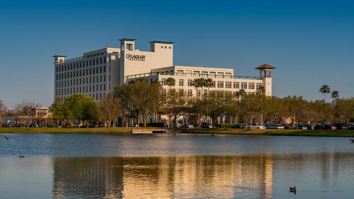 Flagler Hospital inSaint Augustine, Florida
