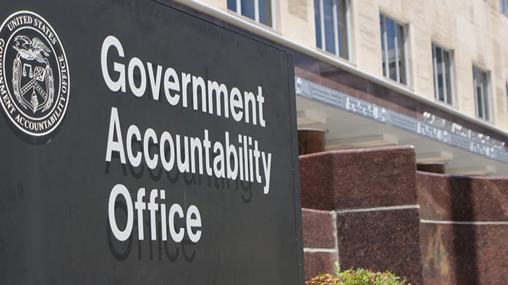 Government Accountability Office exterior building sign