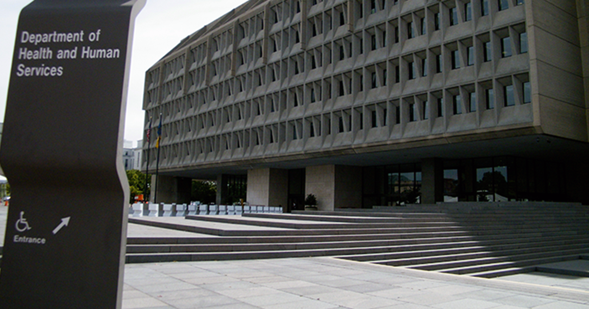 A Departement of Health and Human Services building