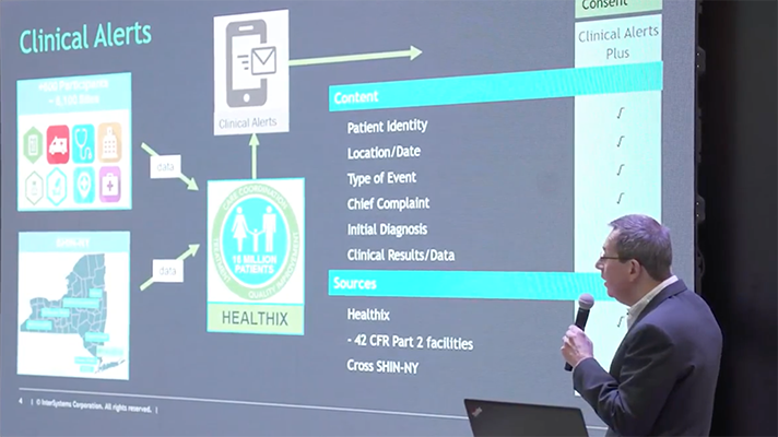 New York's Healthix HIE sending caregivers clinical info alerts without patient consent