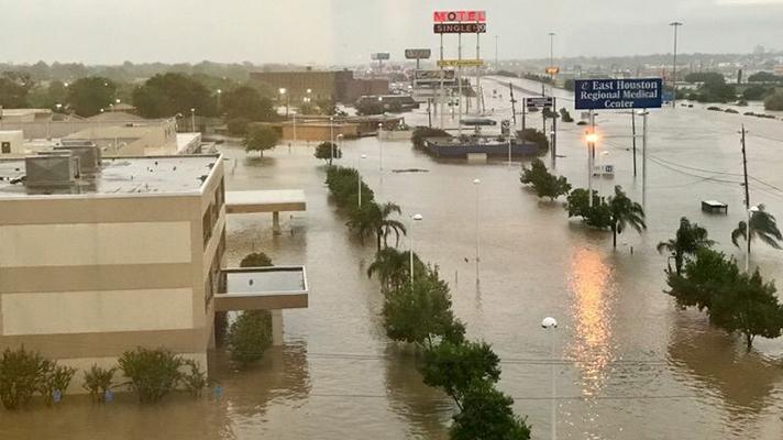 Hurricane Harvey healthcare IT
