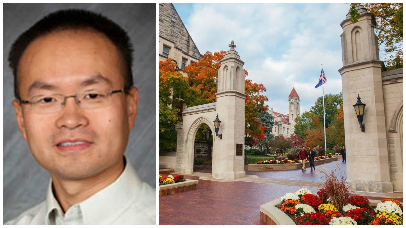 Kun Huang Indiana University precision health iniative