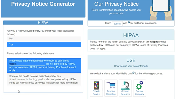 ONC Privacy Policy Snapshot Challenge winner