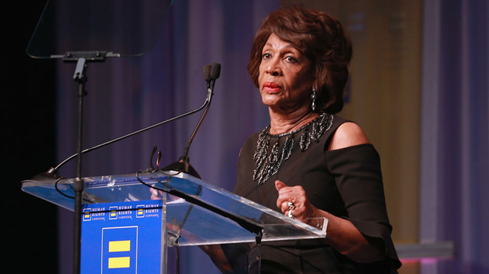 US Representative Maxine Waters and Congressional Black Caucus
