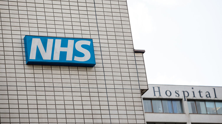 NHS hospital in the UK
