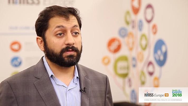 Neil Patel from Healthbox talks to HIMSS TV