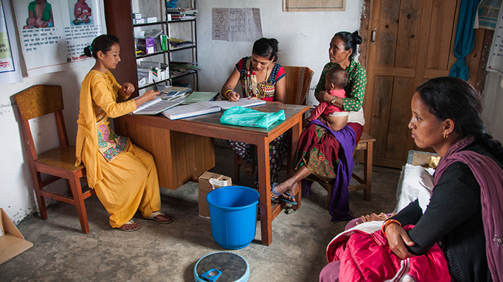 Telehealth for women in rural Nepal