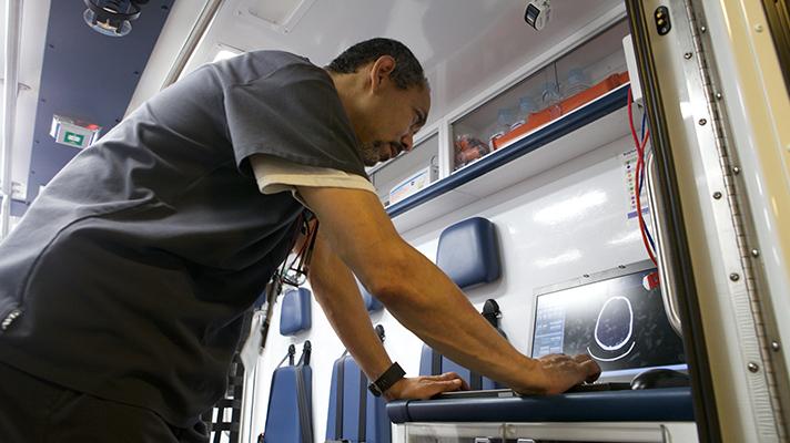 NewYork-Presbyterian telehealth mobile stroke care vehicles