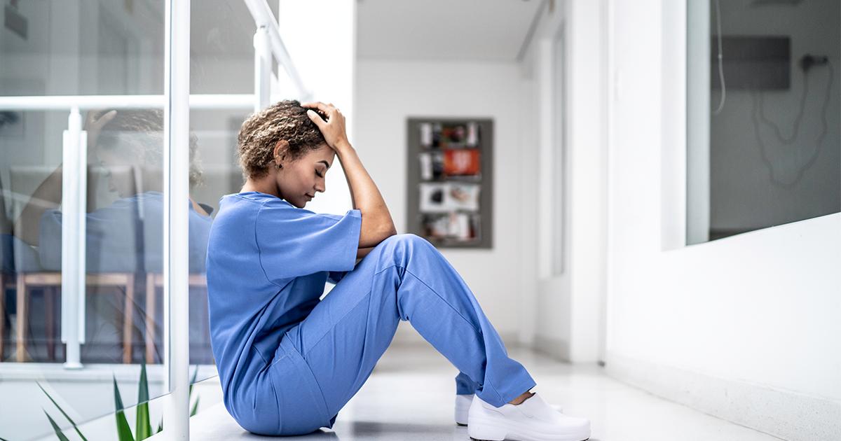 Nurse burnout stress and IT