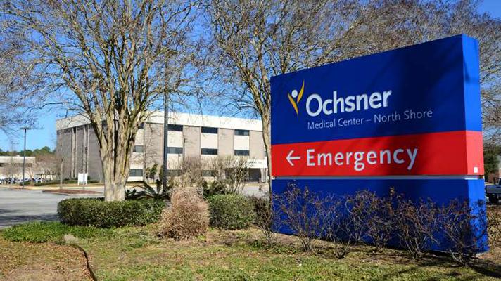 Ochsner health exterior sign