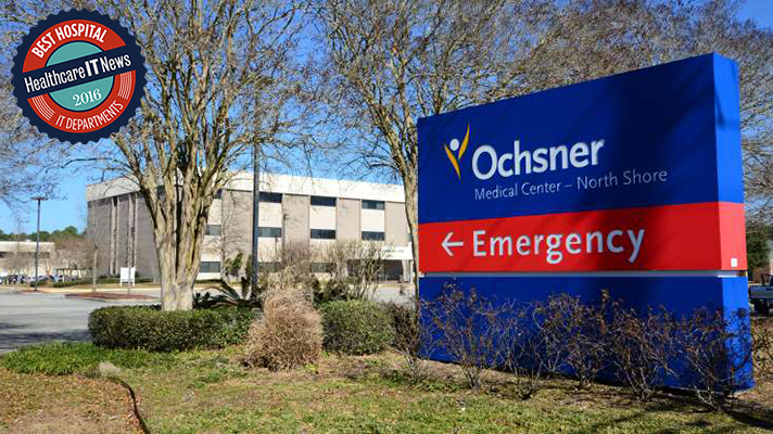 Best Hospital IT 2016: Ochsner Health System