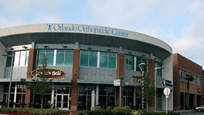 exterior view of Orlando Orthopaedic Center in Florida