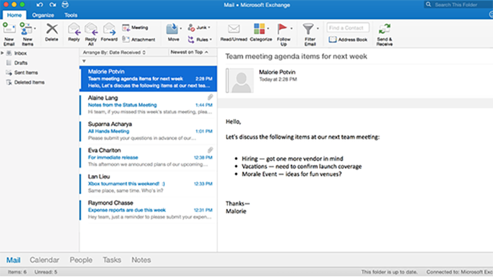 how to change retention policy in outlook 2016
