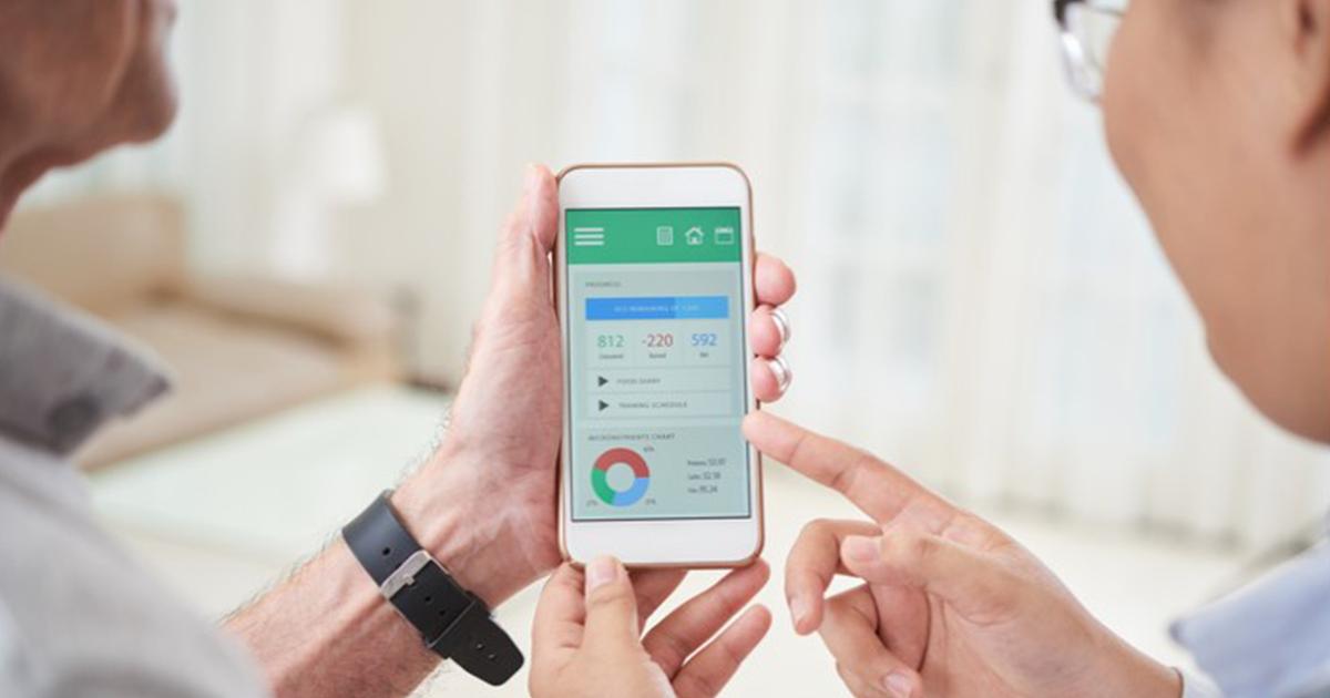 Patient data on smartphone
