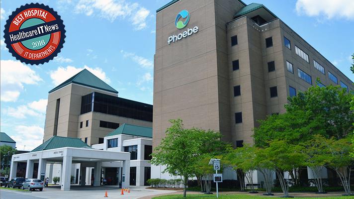 Best Hospital IT 2016:  Phoebe Putney Memorial