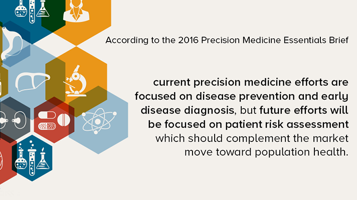 Precision medicine genomics report from HIMSS Analytics