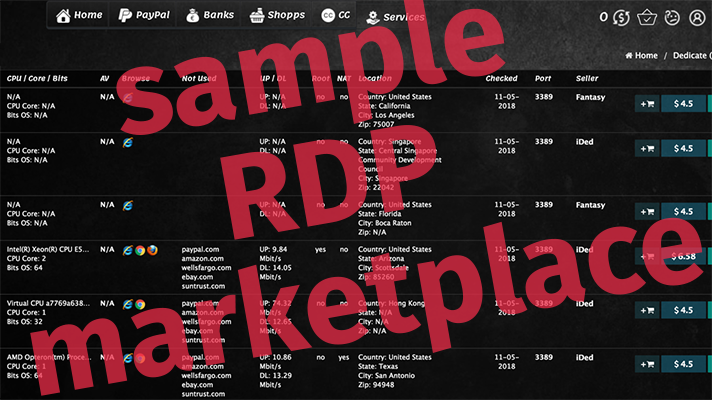 rdp backdoors cost just 10 on dark web how to avoid getting hacked