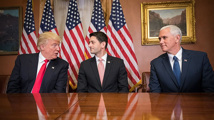 US ready to strike free trade deal with Britain, says Paul Ryan