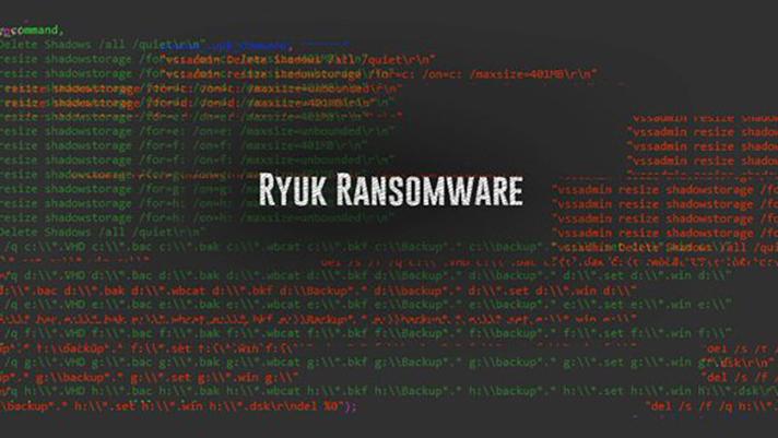 Ryuk Ransomware Targeting Hospitals