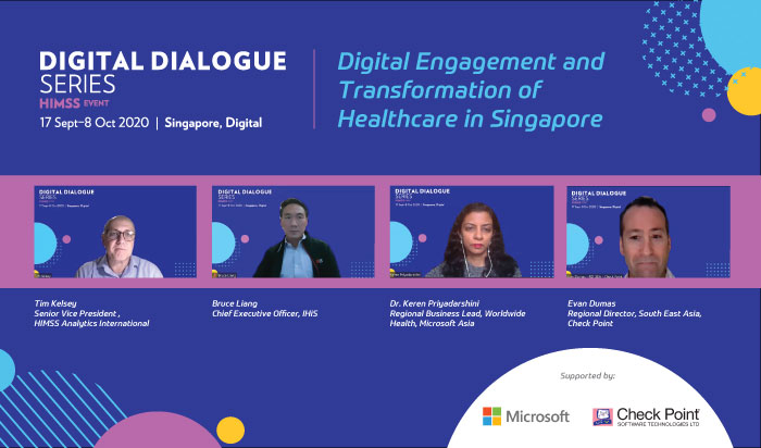 Digital engagement and transformation of healthcare in Singapore