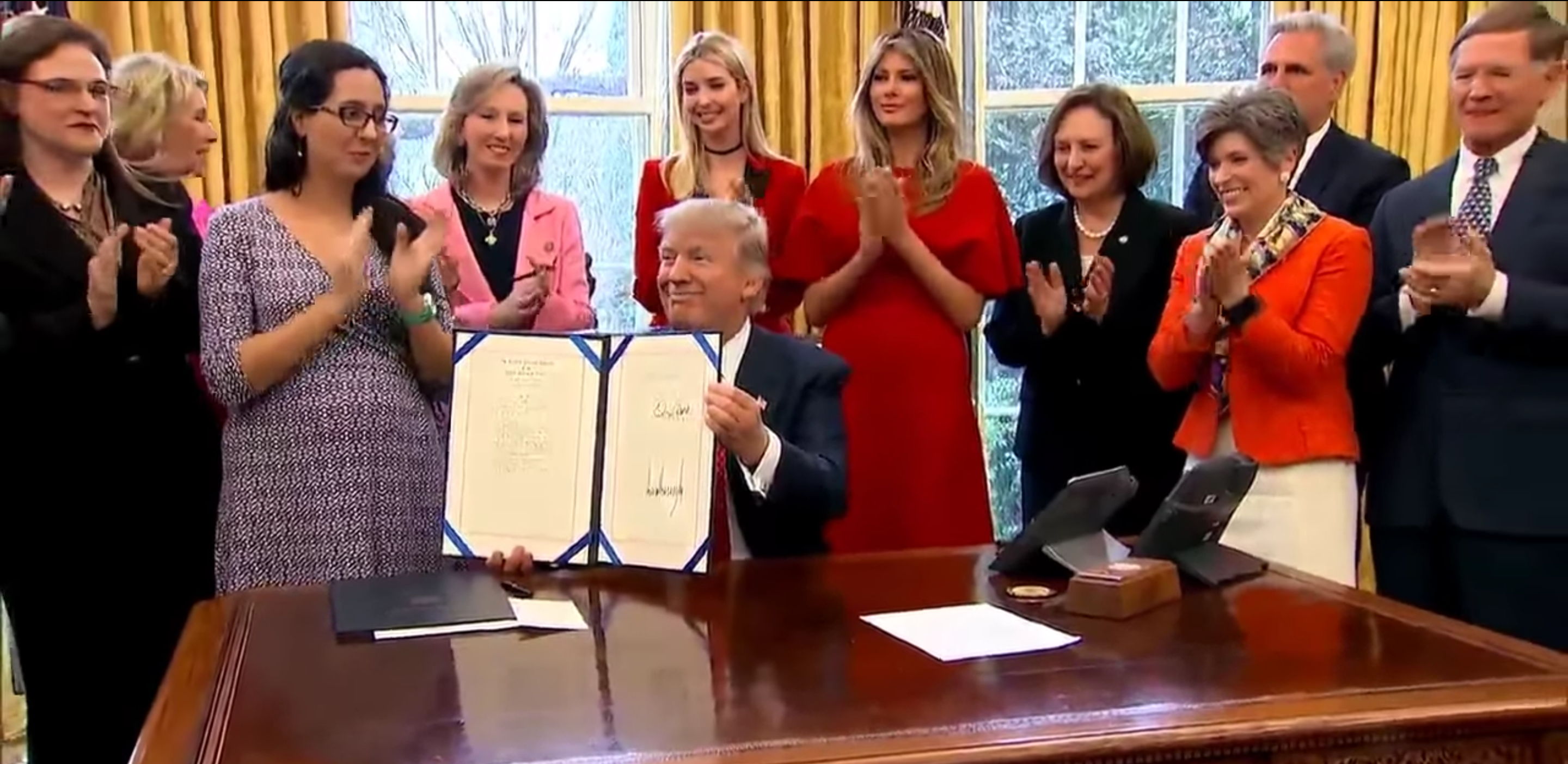 Trump STEM laws women
