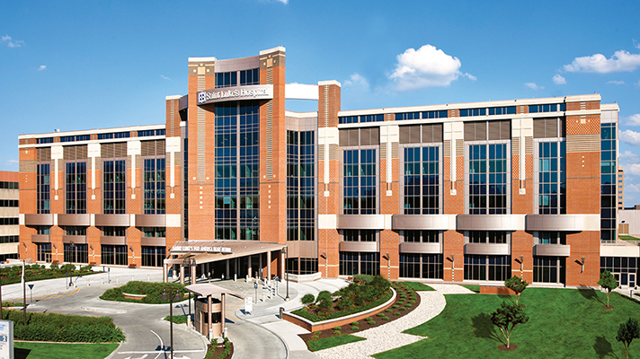 outside view of Saint Luke's Health System in Kansas City