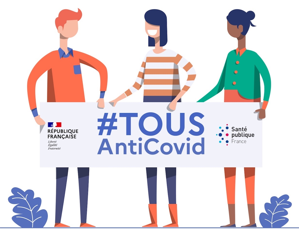 TousAntiCovid, Contact tracing, COVID-19