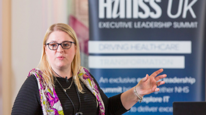 Rachel Dunscombe, CEO of the NHS Digital Academy and Director of Digital at the Salford Royal Group