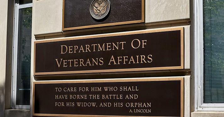 VA building sign