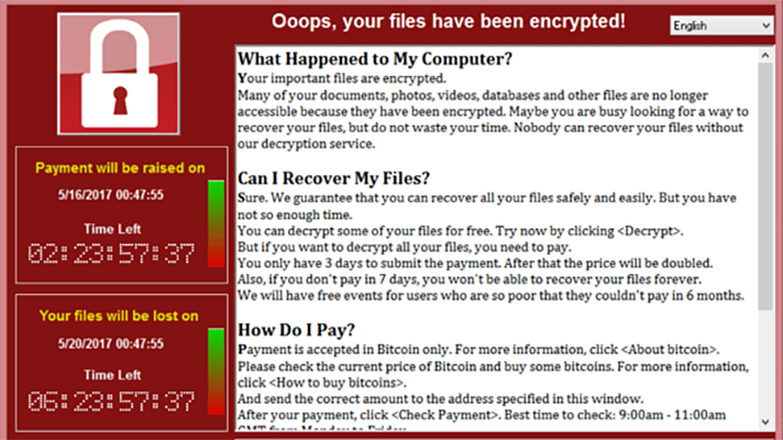 WannaCry ransomware north korea