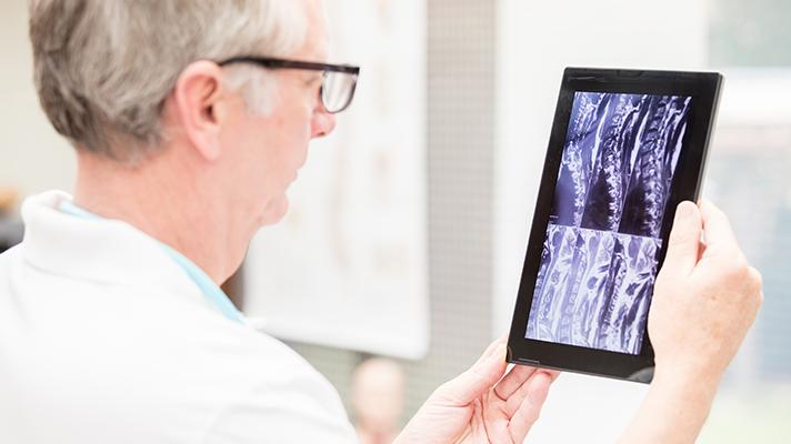 imaging on tablet